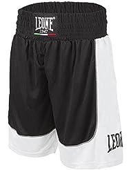 Pantalones cortos de boxeo Leona AB738 Negro (S)
