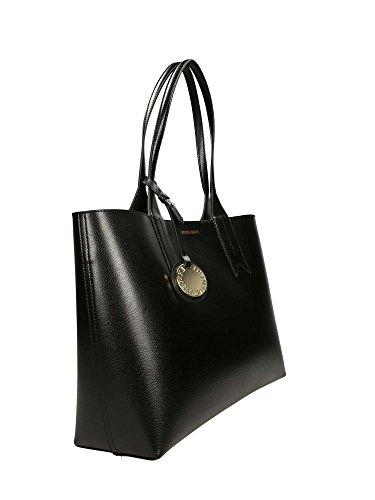 Emporio Armani Logo Shopping Donna Handbag Nero Nero Salida Ebay Las Compras En Línea De Descuento ed6D8mOr