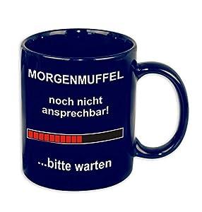 Rahmenlos Z870095 - Taza, diseño con Texto en alemán
