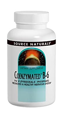 Source Naturals Coenzymated B-6 Sublingual, 60 Tabs 25 mg from Source Naturals