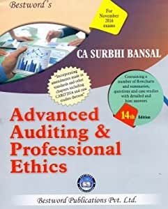 Advanced Auditing and Professional Ethics - CA Final