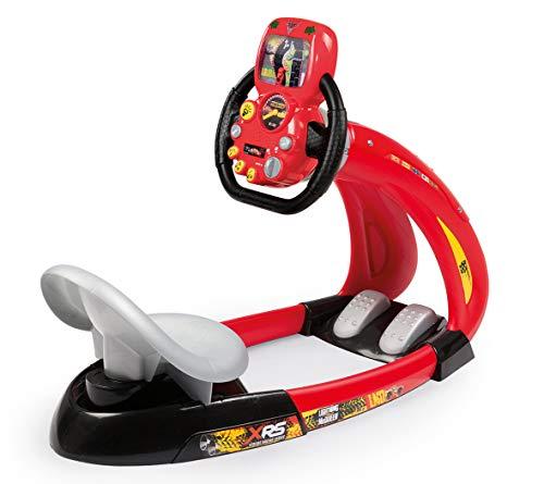 Smoby- Cars XRS V8 simulatore di Guida, Colore, 7600370215