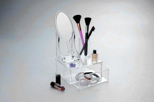 Danielle Organisateur multi-fonctions avec miroir (Acrylique)