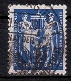 Briefmarken DDR 1949, Mi. Nr. 243, Gründungskonferenz der Postgewerkschaft, Gestempelt