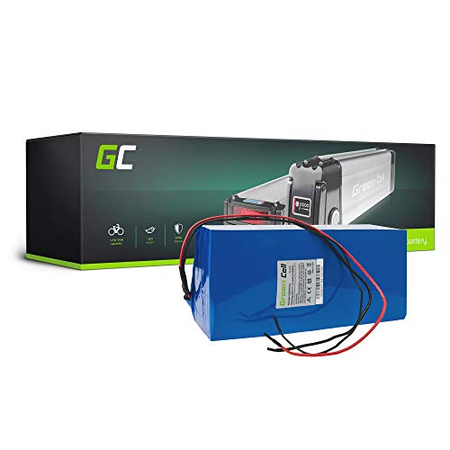 Green Cell EBIKE 24V 14.5Ah Batteria Battery Pack Pedelec con Celle Panasonic Li-Ione Bicicletta Elettrica per Olympia KTM Cannondale Raleigh