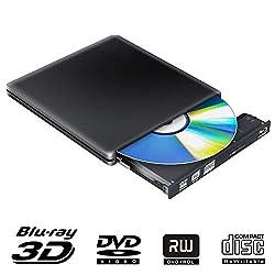 Ce lecteur externe Blue Ray vous permet de lire et de graver des disques Blu-ray (BD), de regarder des films 3D Blu-ray, d'écouter de la musique sur CD, de créer des sauvegardes, d'installer des systèmes d'exploitation et de créer des disques de sauv...