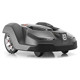 Husqvarna Automower 450X | Modèle 2018 | Robot tondeuse pour pelouses particulièrement grandes jusqu' à 5.000m² | Equipé d'un système de navigation GPS fiable