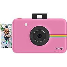 Polaroid Cámara digital instantánea Snap (Rosado) con la tecnología de impresión ZINK Zero Ink