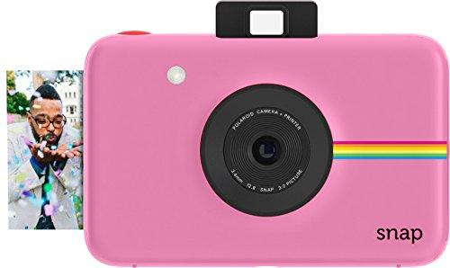 Polaroid Digitale Instant Snap Kamera mit ZINK Zero Ink Technologie Rosa