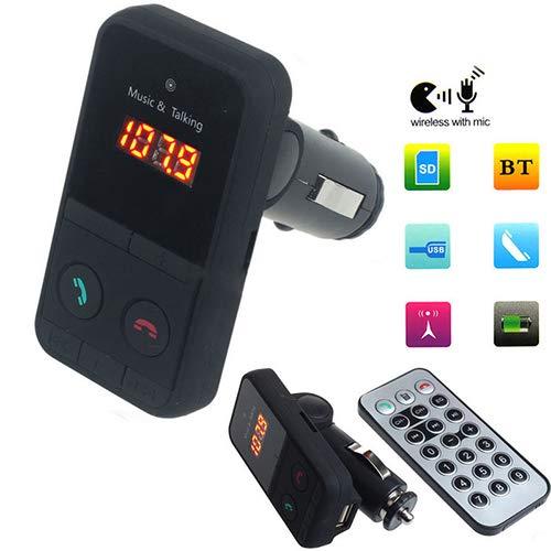 Autoradios & Zubehör Auto MP3 Player Wireless Bluetooth LCD FM Transmitter Modulator USB Car Kit MP3 Player mit Fernbedienung Wireless mit Mikrofon Bluetooth FM Modulator Freisprecheinrichtung