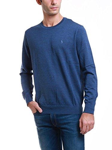 Polo Ralph Lauren Herren Pullover Long Sleeve-Sweater Blu