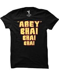 Be Awara Arey Bhai Bhai Bhai Round Neck T-Shirt