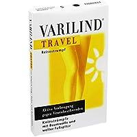 Varilind Travel Reise-Stützstrumpf schwarz S, 2 St preisvergleich bei billige-tabletten.eu