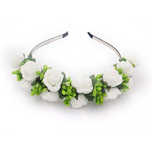 yazilind-elegant-bijoux-crown-couronne-bandeau-artificiel-ivoire-fraise-fleurs-vert-etamines-elegant