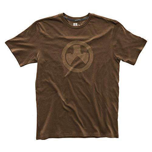 Magpul Herren Fine Cotton Topo T-Shirt kurzärmelig, Dunkelbraun, X-Large