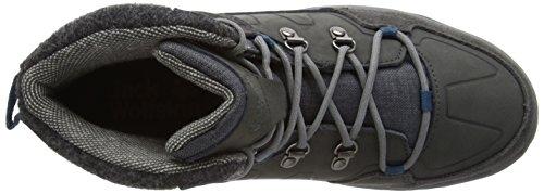 Jack Wolfskin Providence Mid Men, Chaussures de Randonnée Basses Homme Gris (dark Steel 6032)