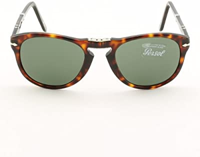 Persol Gafas de sol 0714 24/31 Havana Green Folding Steve McQueen 54mm