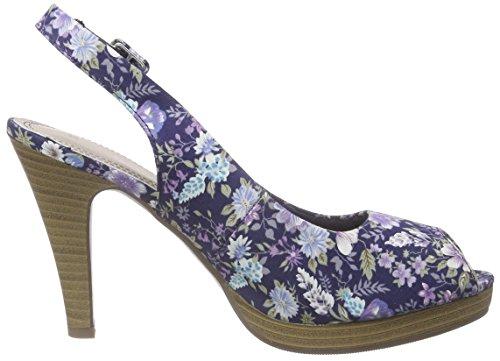 Jane Klain - 296 149, Chaussures À Talons Bleus Pour Femmes (blau (navy Multi 899))