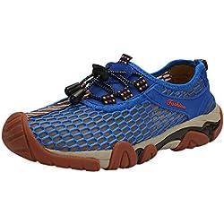 Darringls Zapatos de Transpirable Zapatillas de Senderismo Hombre Mujer Mesh Transpirable Trekking Sneakers Casual Aire Libre Sneakers