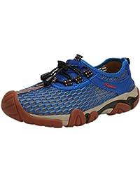 Zapatos de Agua Planos para Hombres de Verano Piscina Playa Natación Cordón Zapatos de Buceo Creek