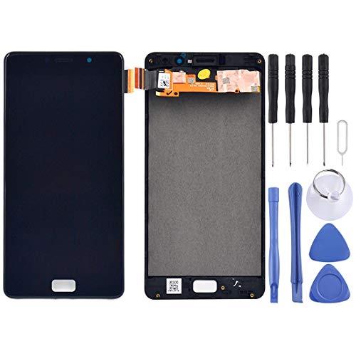YCZLZ Display-Touch Screen für Lenovo Handy-Zubehör LCD-Bildschirm und Digitizer Vollversammlung mit Rahmen for Lenovo Vibe P2 / P2a42 / P2c72 (Schwarz) + Tools (Farbe : Black)