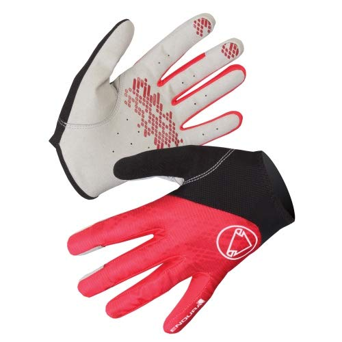 ENDURA - Hummvee Lite Glove, Color Rojo, Talla M