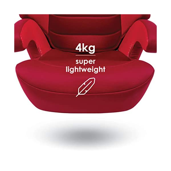Diono Everett NXT Fix Highback Booster Seat - 7 Position Adjustable Headrest, Group 2/3 (15 - 36 kg and Up to 160 cm In Height), Approx. 4-12 Years, Plum Diono Designed to grow: group 2/3 car seat is suitable from 18kg - 50kg, approx. 4 to 12 years old. The 7-position adjustable headrest can be altered using the handle on the back of the seat Superior safety: cushioned side impact protection has been engineered and tested to the highest standards. The ergonomic design includes extra padding to provide comfort and security as a child grows Universal connectivity: parents can install the seat using the vehicle seatbelt or use the integrated rigid latch connectors that anchor the seat to the car allowing the child to buckle themselves in 6