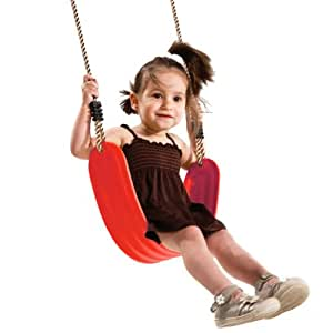 Kbt Flexible Wraparound Swing Seat Pp Rope - Red