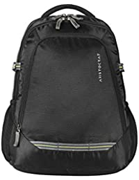 Aristocrat Gusto Fabric 30 Ltrs Black Laptop Backpack (LPBPGUS2BLK)