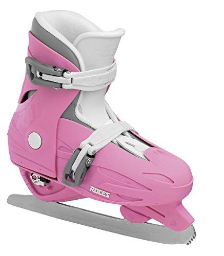Roces Schlittschuhe MCK II F Größenverstellbar Kinder verstellbar, deep pink-White, 30-35 -