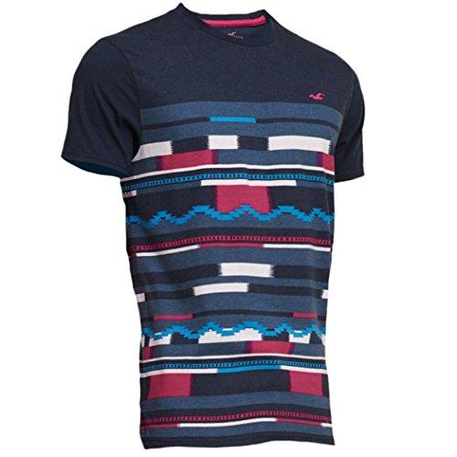 hollister-camiseta-camiseta-manga-corta-para-hombre-azul-azul-marino-s