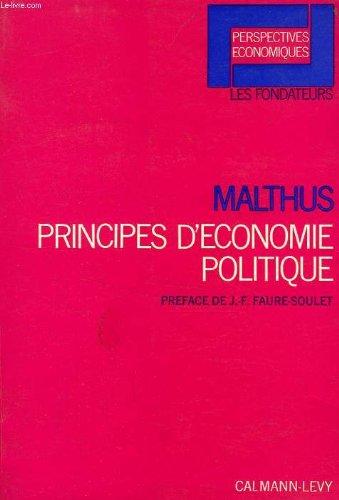 Principes d'économie politique par Malthus