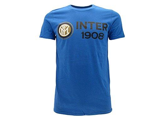T-shirt ufficiale inter nuovo logo 2017 internazionale prodotto ufficiale (m adulto)