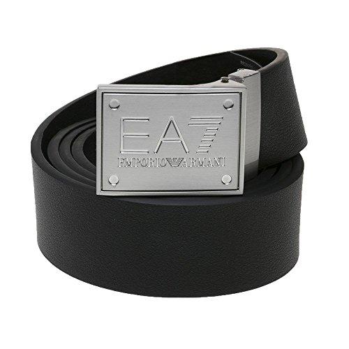 Emporio Armani Ea7 Plaque Black