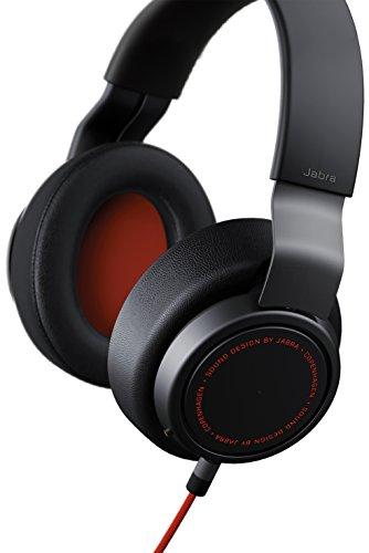 Jabra Vega Noise Cancelling Over-Ear-Kopfhörer (Active Noise Cancellation, Stereo-Headset, 3,5-mm-Audioanschluss, Freisprechfunktion, inkl. Audioadapter für Flugzeugsitz) - 3