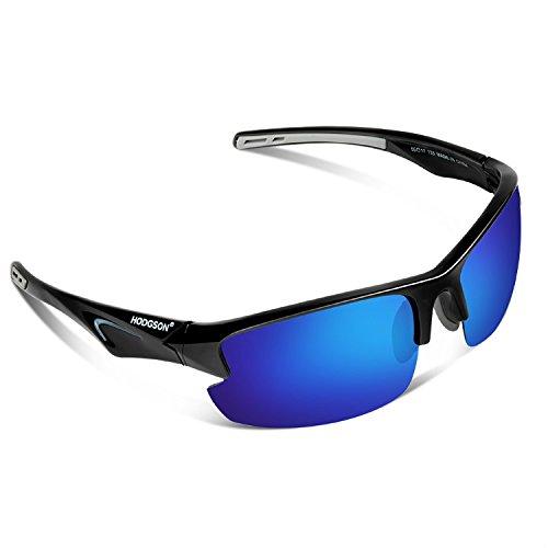 HODGSON polarisierte Sonnenbrille für Herren und Damen, Unzerbrechliche Sonnenbrille