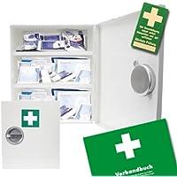 Verbandsschrank - Erste Hilfe Schrank - Kasten DIN 13157 inkl. Füllung, Verbandbuch und 10 Prüfsiegel preisvergleich bei billige-tabletten.eu