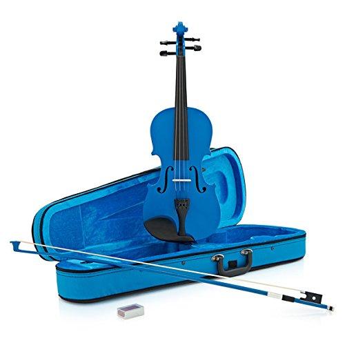 4/4-Schülervioline blau von Gear4music