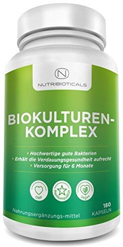 Probiotika 180 Kapseln (6 Monatsversorung) von Nutribioticals
