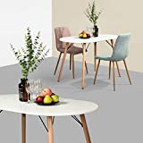YATA HOME See the difference Table Ovale Eiffel Table de Salle à Manger scandinave...
