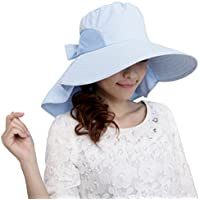LA HAUTE alla moda, cappello a tesa larga Nastro pieghevole