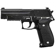 Galaxy - pistola para airsoft, tipo Glock G26, con funda, culata con resorte completamente metálico, de recarga manual (0,4 julios)