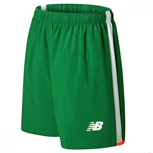 New Balance Herren Offical FAI Merchandise Ireland Home Shorts Jolly Green Large