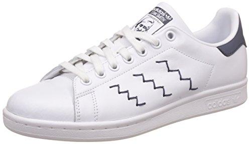 Adidas Damen Stan Smith Sneaker Mehrfarbig (ftwr Bianco / Ftwr Bianco / Traccia Blu F17)