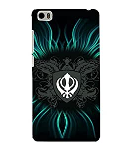 printtech Sikh Khalsa Waheguru Back Case Cover for Xiaomi Redmi Mi5::Xiaomi Mi 5
