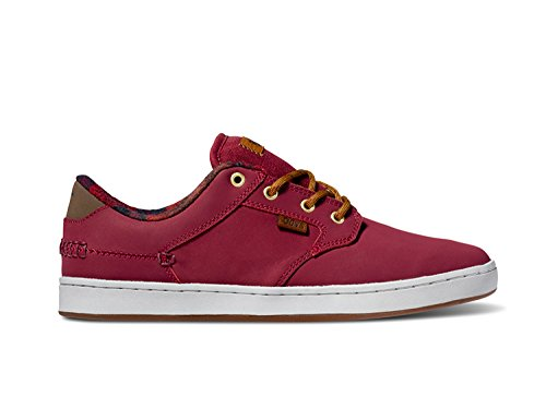 DVS APPAREL Quentin, Chaussures de Skateboard homme Rouge