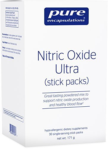 Pure Encapsulations - Nitric Oxide Ultra (stick packs) - Hypoallergenic Supplement Supports Nitric Oxide Production and Healthy Blood Flow* - 30 Packets by Pure Encapsulations - Ultra Pure Pack