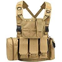 Guardia Chaleco Táctico Chalecos Militares De Campaña De Seguridad Chaleco Ajustable Transpirable Impermeable para Al Aire Libre
