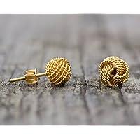 Ohrringe Mini-Knoten 925