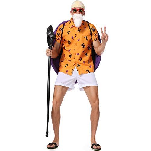 Bdclr Halloween Männliche Schildkröte Fee, Kostüm Cosplay Männer Rolle Spielen Schildkröte Kostüm,L (Sexy Männlichen Vampir Kostüm)